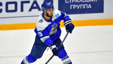 Дамир Рыспаев. Фото ХК «Барыс»