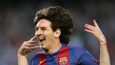 «Как быстро летит время». Месси показал свой первый гол за «Барселону», забитый 15 лет назад