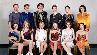 Российская «дрим-тим» конца 1990-х. Анна Семенович— крайняя слева. Фото Фото изличного архива