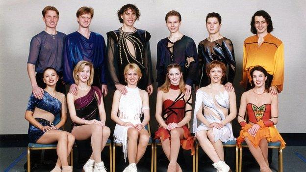 Российская «дрим-тим» конца 1990-х. Анна Семенович — крайняя слева. Фото Фото из личного архива