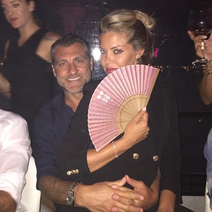 Кристиан Вьери и его жена Констанца Каррачиоло. Фото Instagram