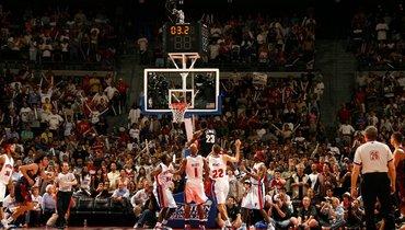 Регулярный чемпионат НБА. Фото twitter.com/NBAHistory.