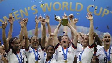 Сборная США празднует победу на чемпионате мира. Фото Reuters