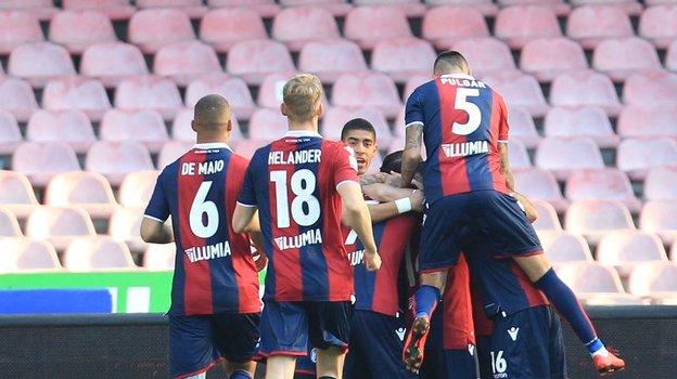 Игроки «Болоньи». Фото AFP