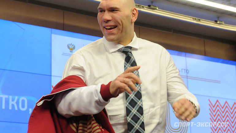 Николай Валуев. Фото Федор Успенский, «СЭ»