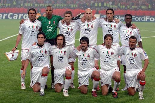 Милан перед финалом Лиги чемпионов-2004/05.