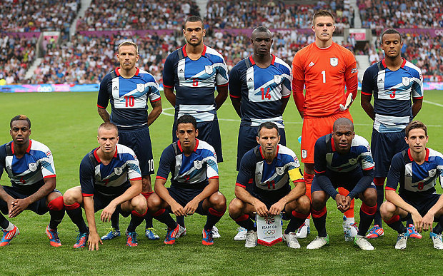 Сборная Великобритании на Олимпиаде-2012. Фото The Telegraph