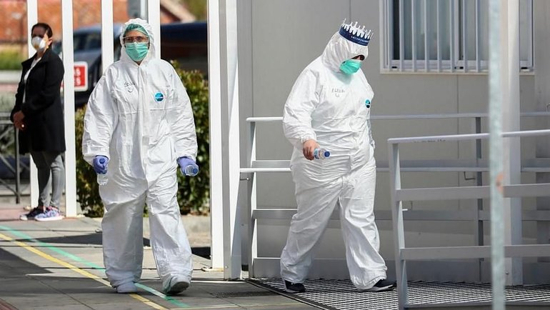 Эпидемия коронавируса вРоссии. Фото Reuters