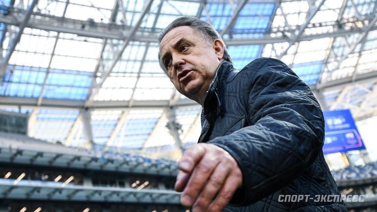 Виталий Мутко. Фото Дарья Исаева, «СЭ»
