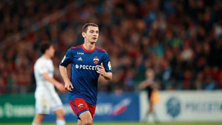 Алан Дзагоев. Фото Изличного архива игрока.