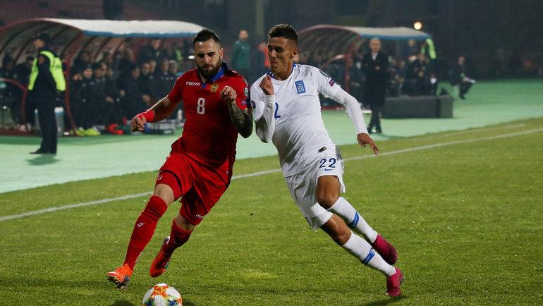 Димитриос Яннулис (справа). Фото Reuters