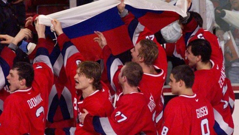 Русская молодежка заставила рыдать 13 тысяч канадцев. Историческое золото России за12 лет доБаффало