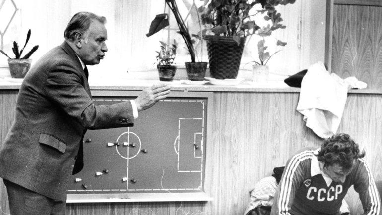 1980-е. Константин Бесков (слева) иЮрий Гаврилов. Фото Игорь Уткин
