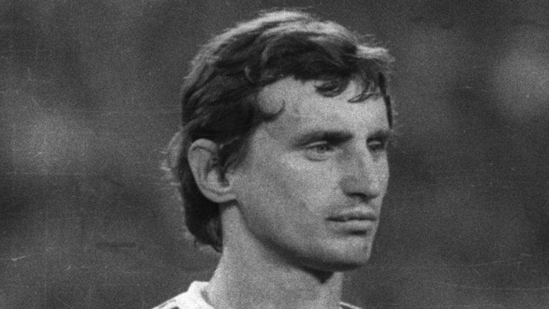 1980-е. Юрий Гаврилов всоставе сборной СССР. Фото Сергей Колганов