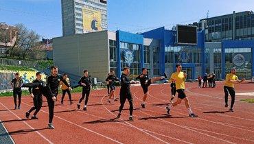 Ульяновская «Волга» возобновила групповые тренировки