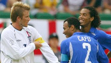 «Грустно видеть, как плачет Симэн». Гол Роналдинью англичанам вчетвертьфинале ЧМ-2002 был волшебным