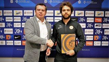 Башкиров продлил контракт с «Заглембе» надва года