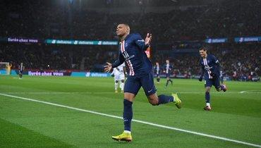 Мбаппе признан лучшим бомбардиром чемпионата Франции