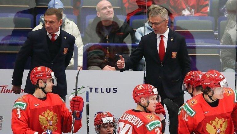 Ларионов— вместо Брагина. Что ждать отсмены тренера вроссийской молодежке