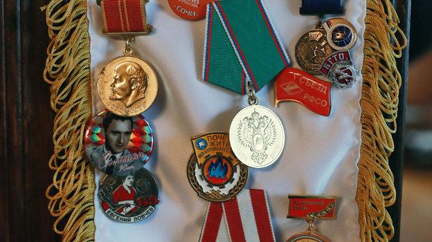 Медали Евгения Ловчева