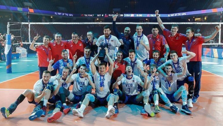 Сборная России выиграла Лигу наций в2019 году. Фото AFP