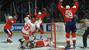 «Без сомнений, это лучший хоккей вмоей жизни». Гретцки— олегендарном финале СССР— Канада