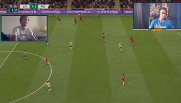 Медведев («Ювентус») обыграл Монфиса («Ливерпуль») впервом матче FIFA 20