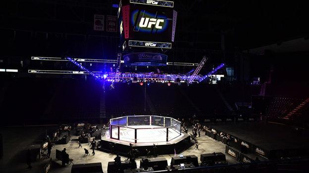 9мая. Джексонвилл. Турнир UFC 249 прошел при пустых трибунах. Фото Reuters