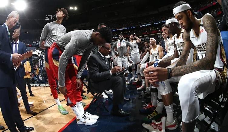 Игроки «Нью-Орлеана». Фото БК «Нью-Орлеан».