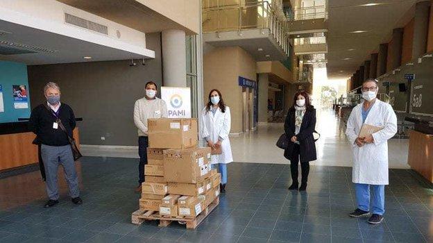 Аргентинская больница закупила необходимое после пожертвования от Лионеля Месси. Фото TyC Sports.