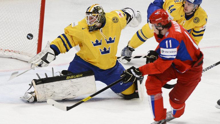 Хет-трик ипять очков— чумовой матч Малкина наЧМ! Разорвал мощнейшую шведскую сборную перед ееболельщиками