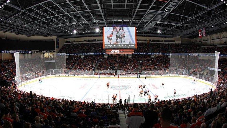 Сезон вАмериканской хоккейной лиге отменен. Фото twitter.com/TheAHL