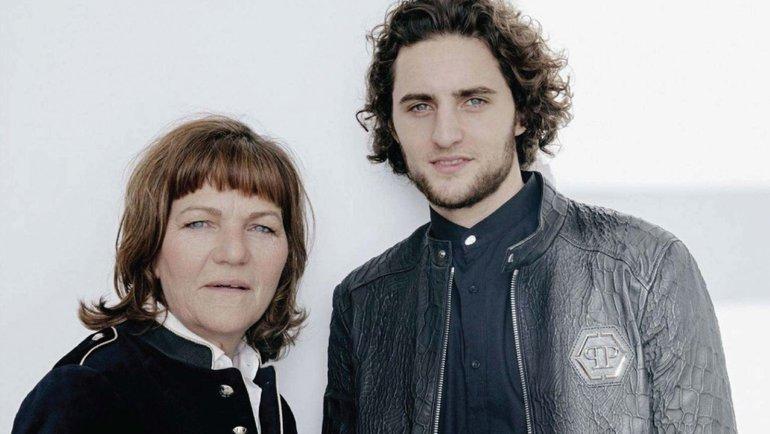 Адриен Рабьо и его мать. Фото Instagram