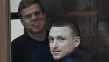 Александр Кокорин иПавел Мамаев.