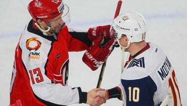 Дацюк— самый уважаемый игрок КХЛ поопросу хоккеистов, Зарипов иМозякин— втройке