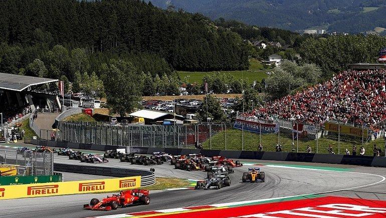"""Трасса """"Формулы-1"""" в Австрии. Фото Autosport"""