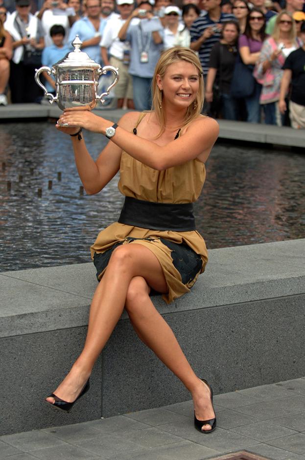 Теннисистка Мария Шарапова. Фото Андрей Голованов иСергей Киврин