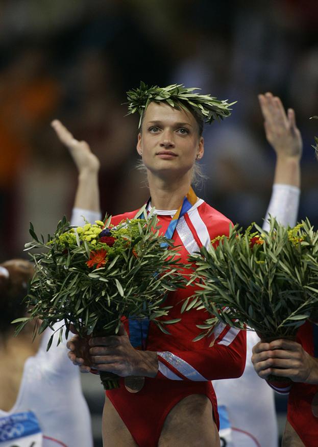 Гимнастка Светлана Хоркина. Фото Андрей Голованов иСергей Киврин
