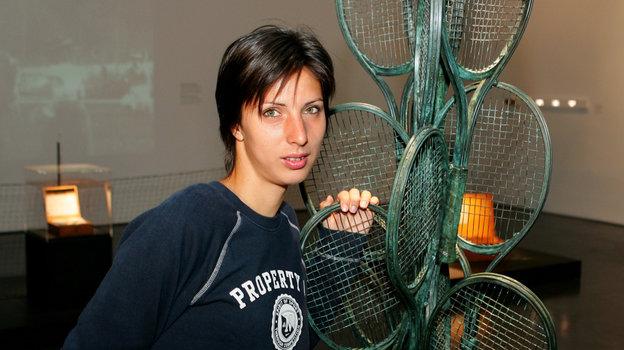 Теннисистка Анастасия Мыскина. Фото Андрей Голованов и Сергей Киврин