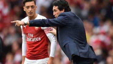 Унаи Эмери: «Пытался сделать Езила капитаном «Арсенала», нораздевалка была против»