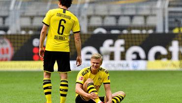 Дортмундская «Боруссия» разгромила «Шальке» впервом матче после возобновления сезона