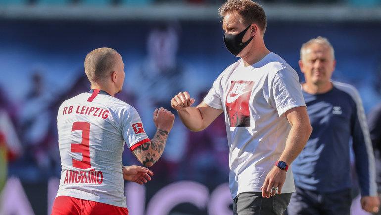 ВАР спасает «Лейпциг», игроки «Герты» целуются иобнимаются. Лучшее избундеслиги задень