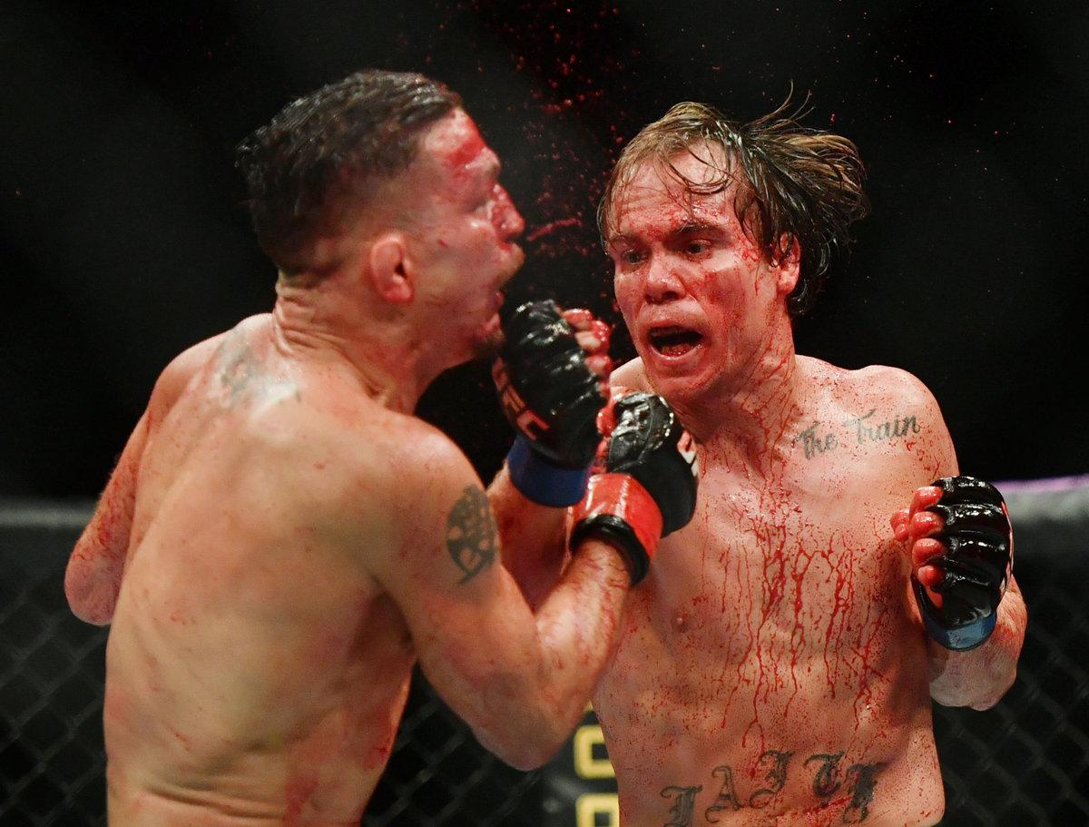 Чемпион М-1 устроил кровавую баню натурнире UFC. Обзор шоу вДжексонвилле