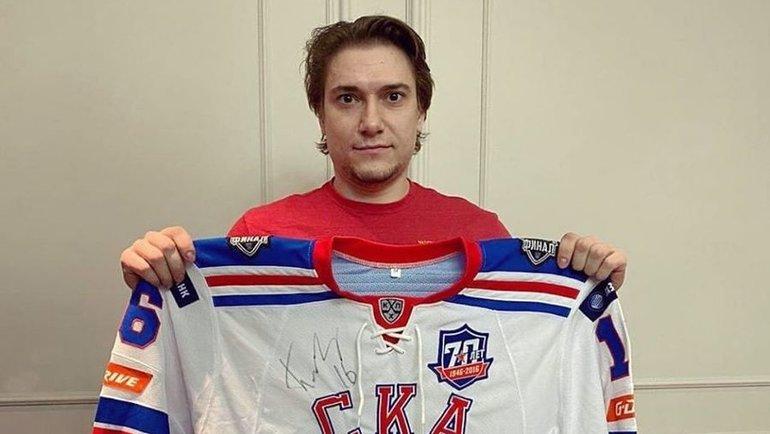 Сергей Плотников. Фото Instagram.