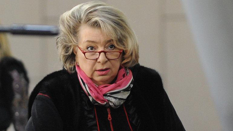 Татьяна Тарасова. Фото Федор Успенский, «СЭ»
