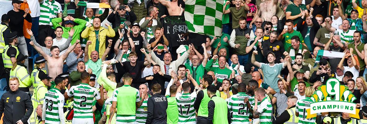 «Селтик» выиграл чемпионат Шотландии. Фото ФК «Селтик».