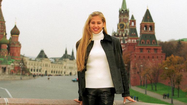 1999 год. Анна Курникова. Фото Андрей Голованов иСергей Киврин, -