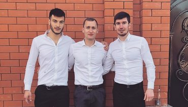 Игорь Хайманов, Давид Мильдзихов иЗаурбек Плиев. Фото Instagram