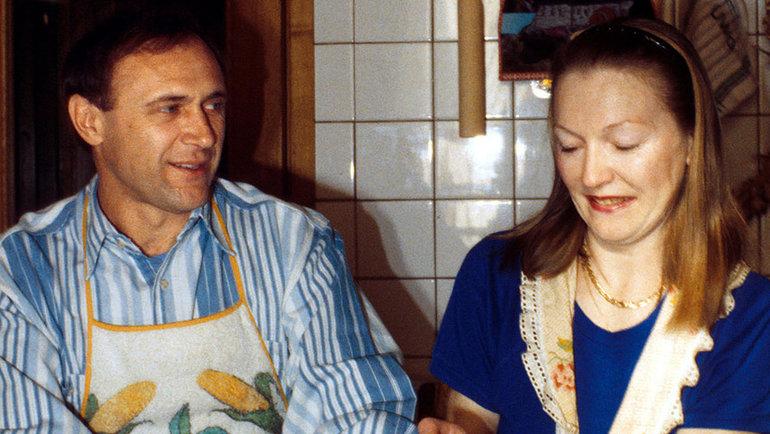 1994 год. Олег иНаталья Долматовы. Фото Reuters