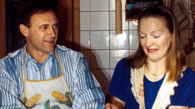 1994 год. Олег и Наталья Долматовы. Фото Reuters